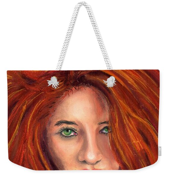 In The Mood Weekender Tote Bag