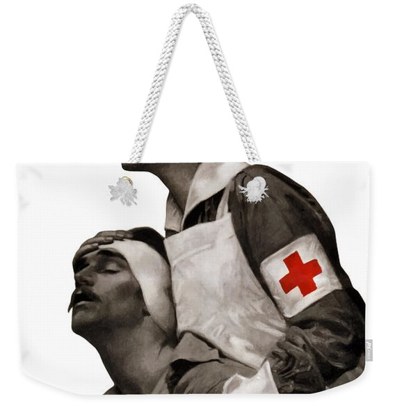 In The Name Of Mercy Give Weekender Tote Bag
