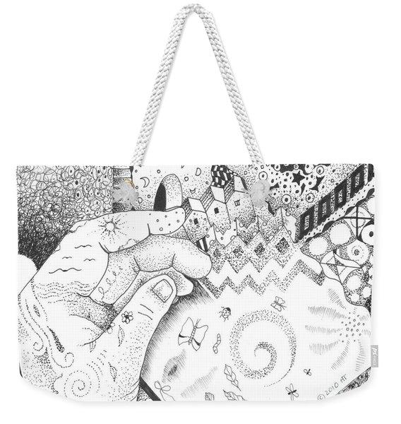 In The Name Of One Weekender Tote Bag