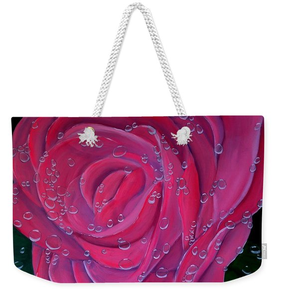 In The Pink Weekender Tote Bag