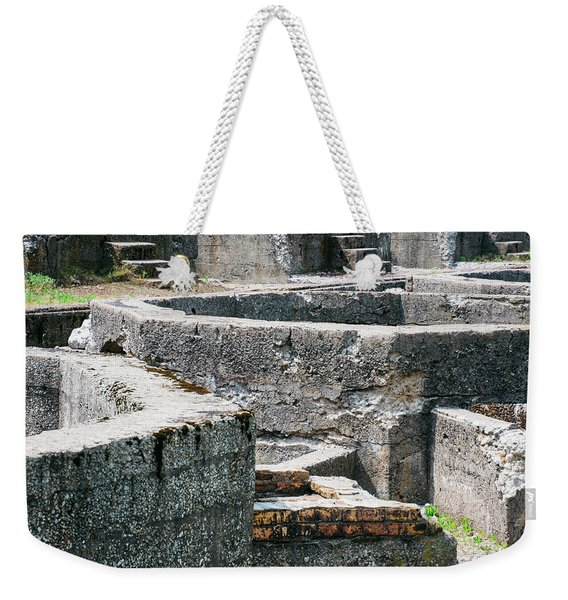 In The Ruins 6 Weekender Tote Bag