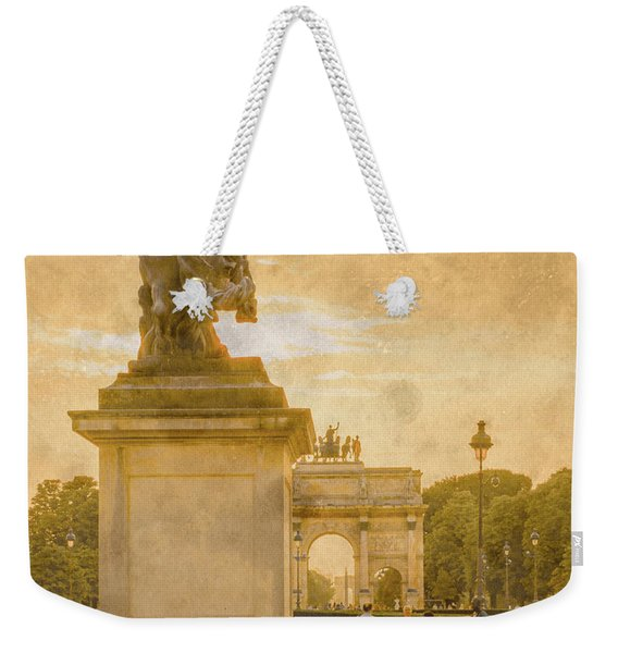 Paris, France - In The Shadow Of Glory Weekender Tote Bag