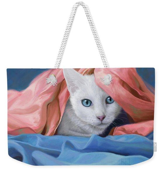 In The Silk Weekender Tote Bag