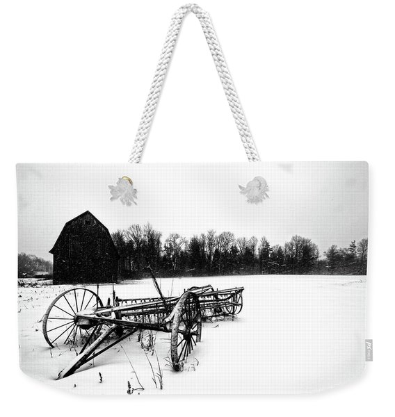 In The Snow Weekender Tote Bag