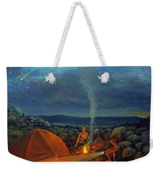In The Spotlight Weekender Tote Bag