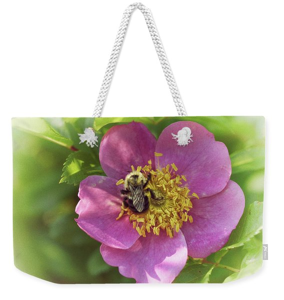 In The Wild Rose Patch Weekender Tote Bag