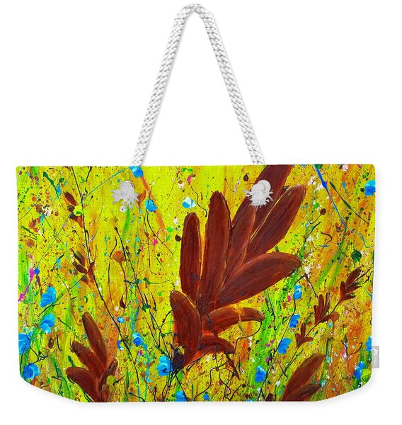 In The Wind Weekender Tote Bag