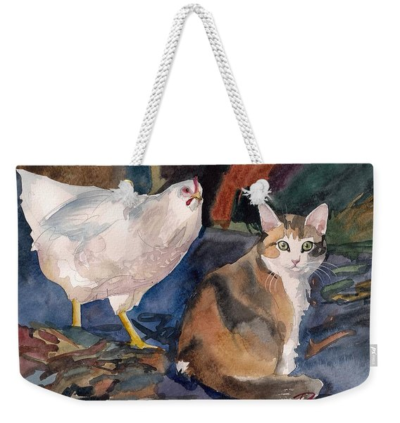 In The Yard Weekender Tote Bag