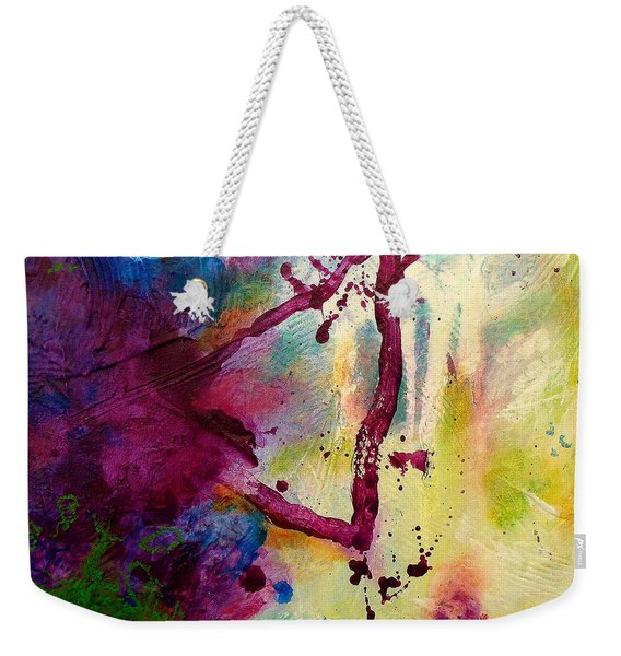 In This Moment Weekender Tote Bag
