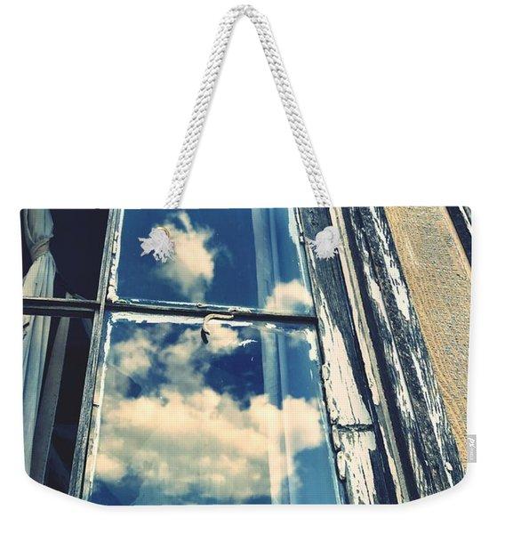 In Through The Clouds Weekender Tote Bag