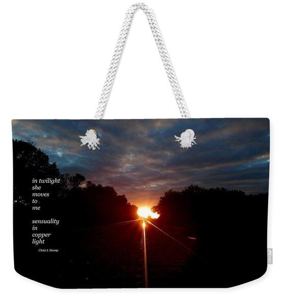 In Twilight Weekender Tote Bag
