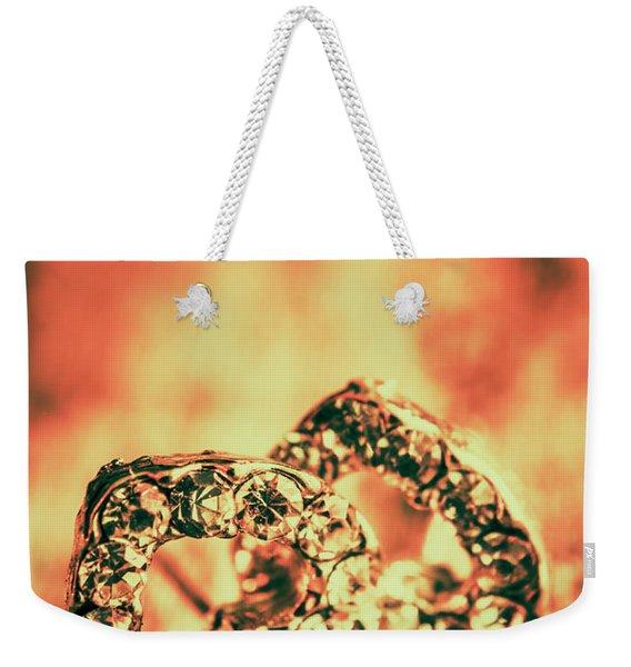 In Valentine Style Weekender Tote Bag