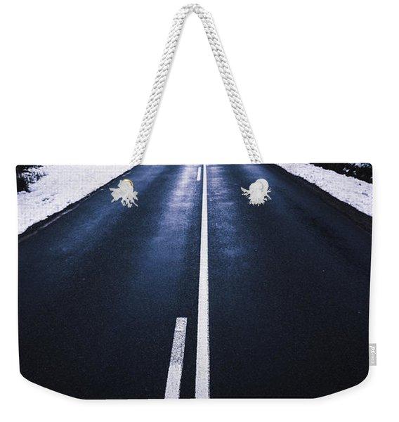 In Winters Travel Weekender Tote Bag