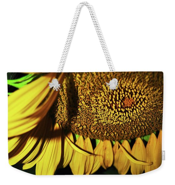 In Your Face Sunflower Weekender Tote Bag