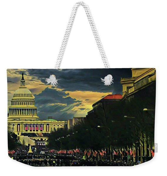 Inauguration Day Weekender Tote Bag