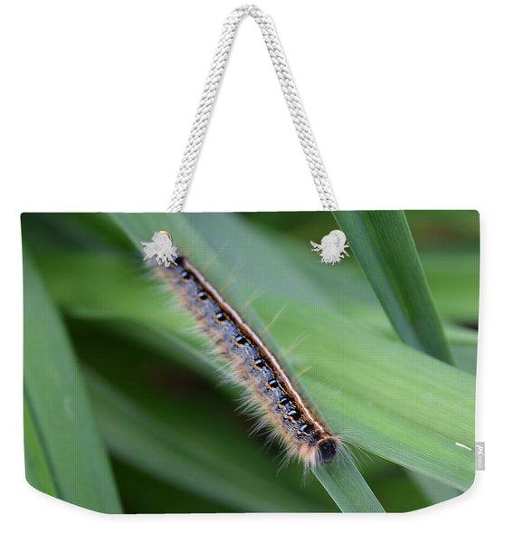 Inchworm Weekender Tote Bag