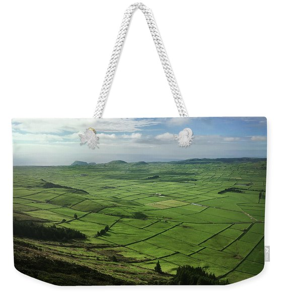 Incide The Bowl Terceira Island, Azores, Portugal Weekender Tote Bag