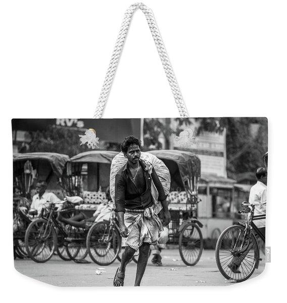 India Weekender Tote Bag