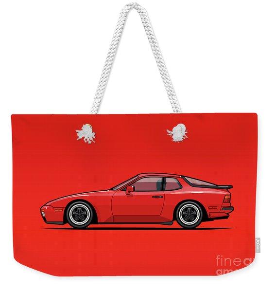 India Red 1986 P 944 951 Turbo Weekender Tote Bag