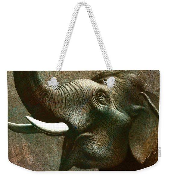 Indian Elephant 2 Weekender Tote Bag