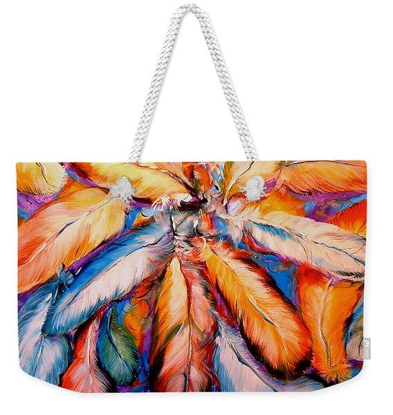 Indian Feathers 2006 Weekender Tote Bag