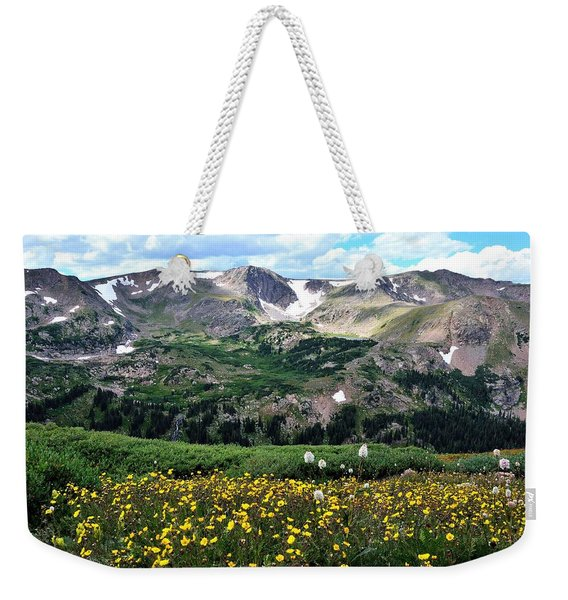 Indian Peaks Wilderness Weekender Tote Bag