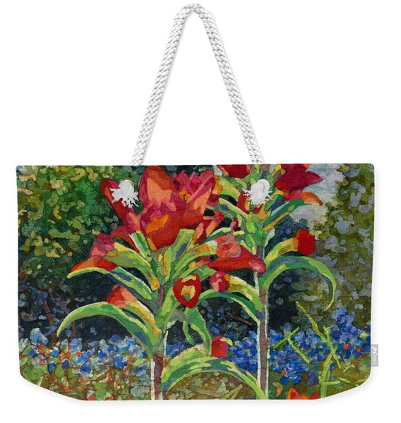 Indian Spring Weekender Tote Bag