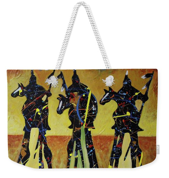 Indian Sundown Weekender Tote Bag