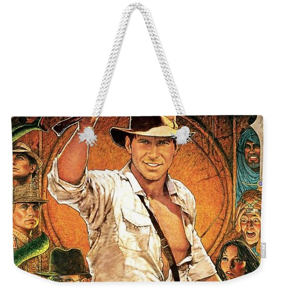 Indiana Jones Raiders Of The Lost Ark 1981 Weekender Tote Bag