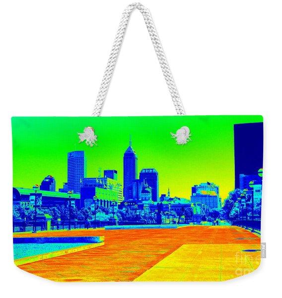 Indianapolis Heat Tone Weekender Tote Bag