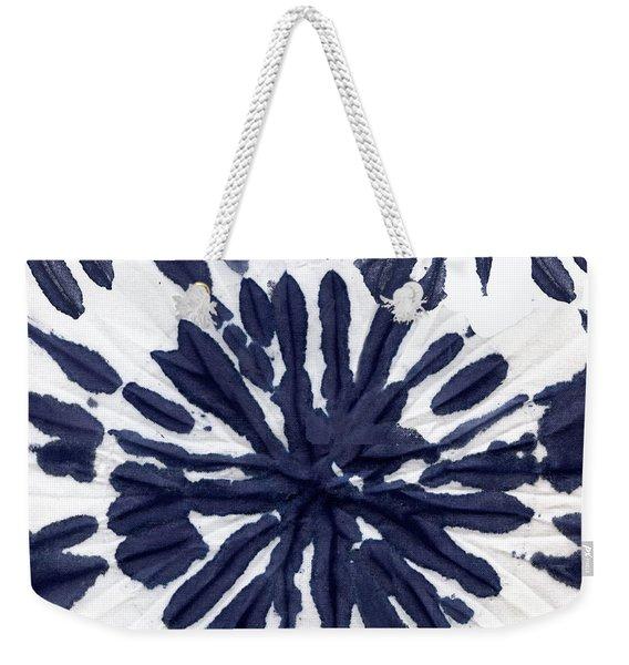 Indigo I Weekender Tote Bag