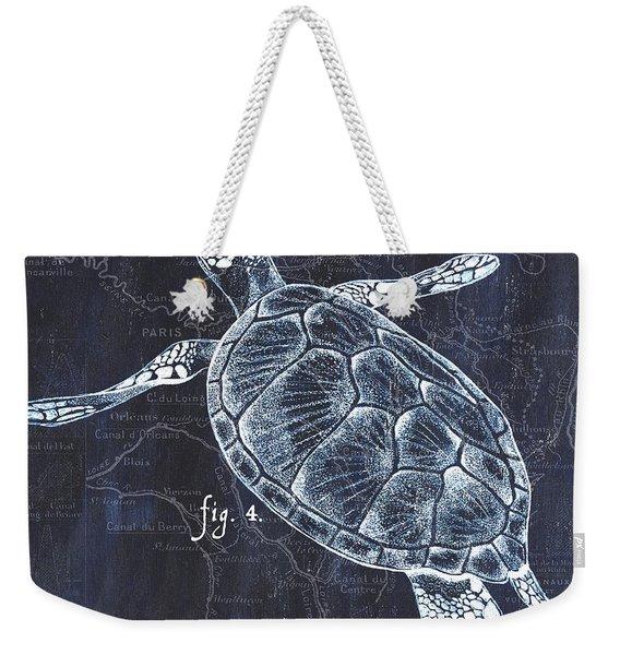Indigo Verde Mar 2 Weekender Tote Bag