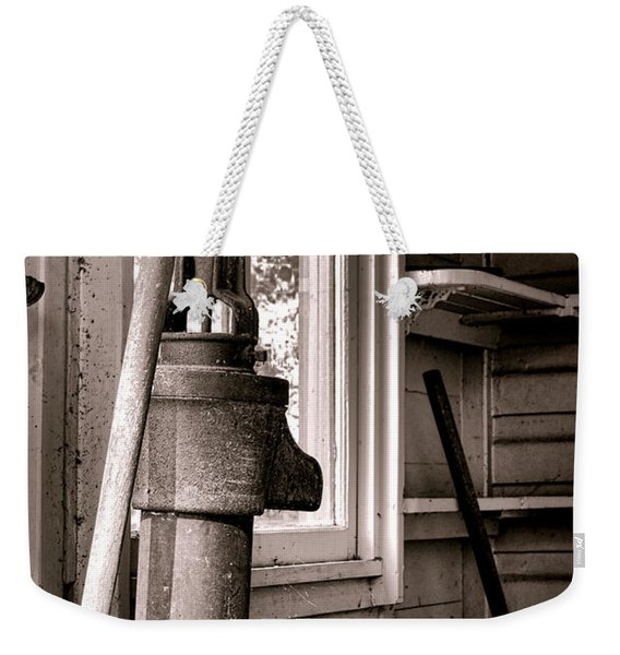 Indoor Plumbing Weekender Tote Bag