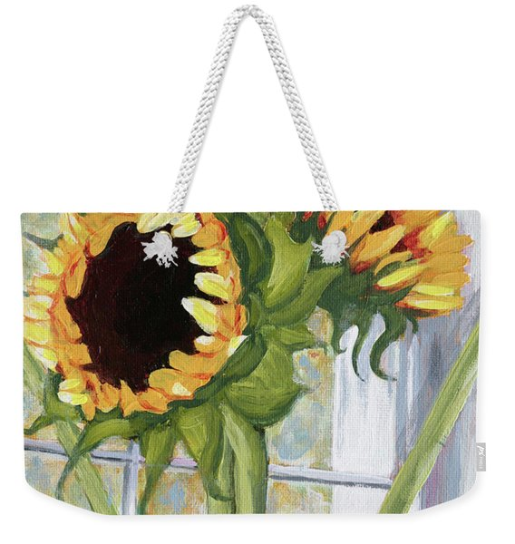 Indoor Sunflowers II Weekender Tote Bag