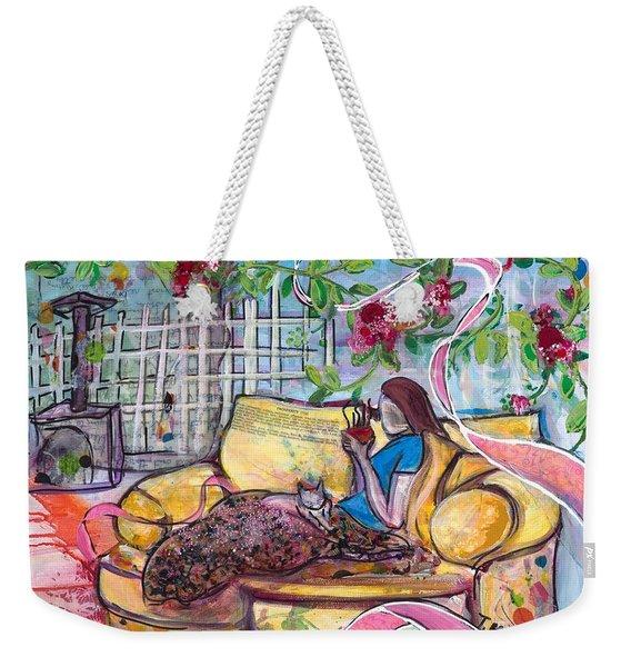 Indulge Weekender Tote Bag
