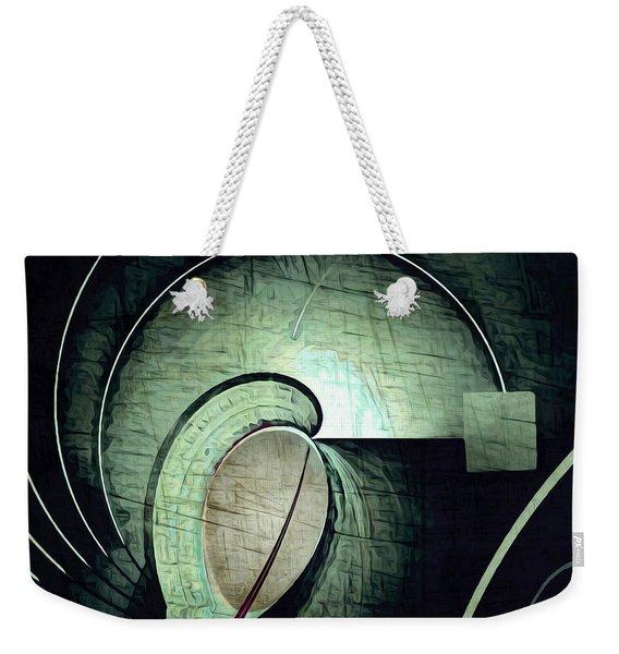 Industrial Arch Grey Weekender Tote Bag