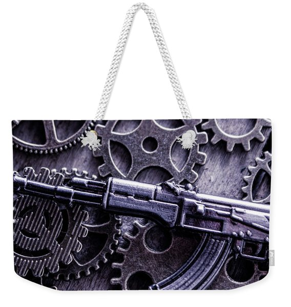 Industrial Firearms  Weekender Tote Bag