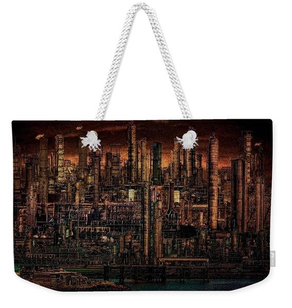Industrial Psychosis Weekender Tote Bag