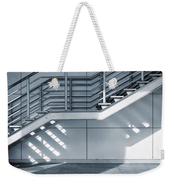 Industrial Stairway Weekender Tote Bag