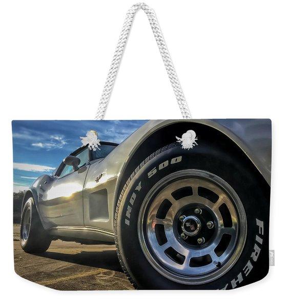 Indy 500 Color Weekender Tote Bag