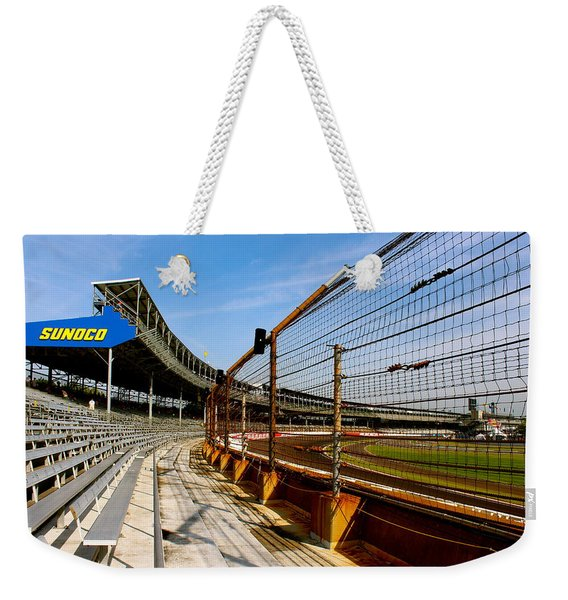 Indy  Indianapolis Motor Speedway Weekender Tote Bag