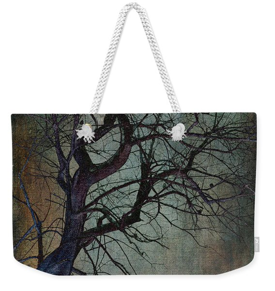 Infared Tree Art Twisted Branches Weekender Tote Bag