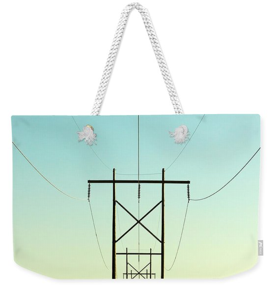 Infinite Conductivity Weekender Tote Bag