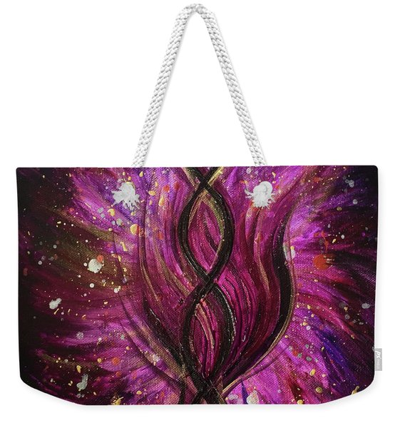 Infinite Love Weekender Tote Bag