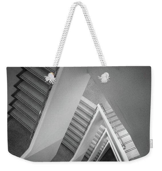 Infinite Stairs Weekender Tote Bag