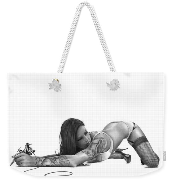 Ink Angel Weekender Tote Bag