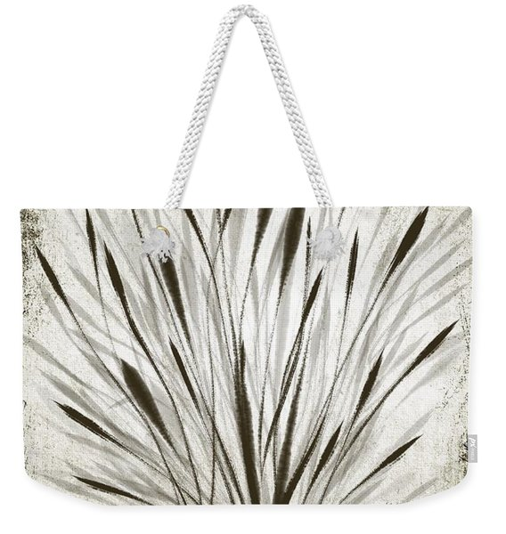 Ink Grass Weekender Tote Bag