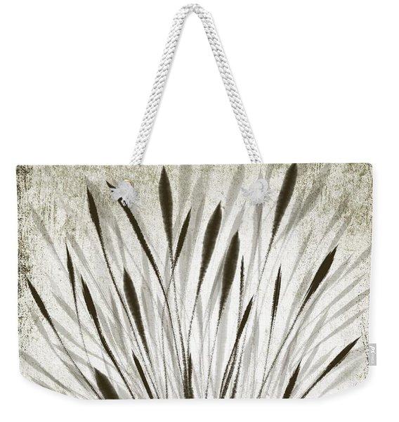 Ink Grass Weekender Tote Bag