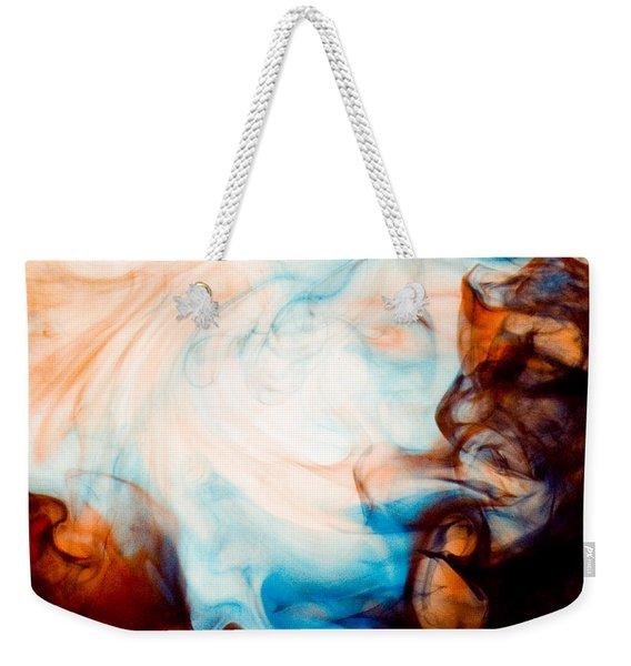 Ink Swirls 001 Weekender Tote Bag