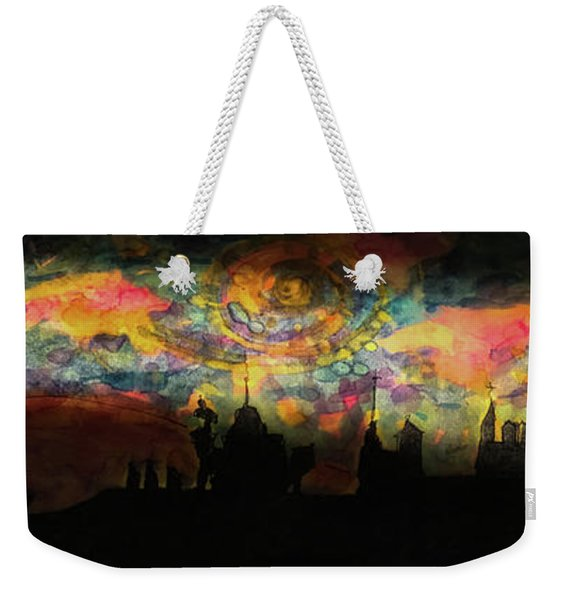 Inky Inky Night II Weekender Tote Bag